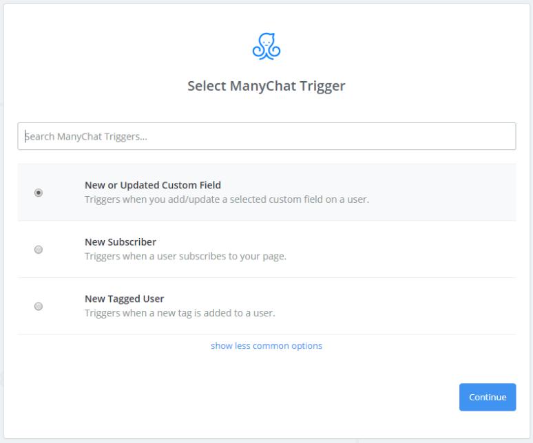manychat-trigger