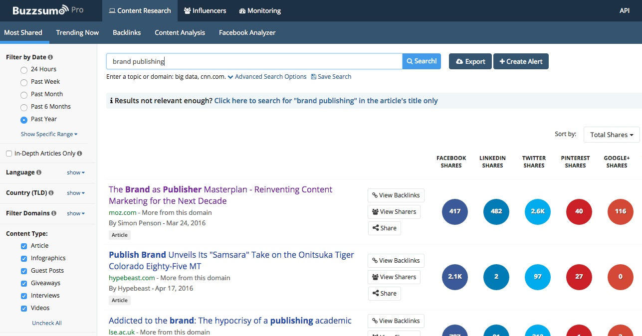 Why You Should Use BuzzSumo, The One Content Marketing Tool We Can't Live Without